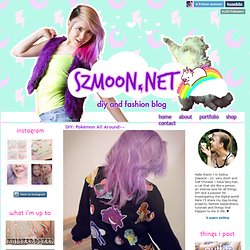 diy fashion and lifestyle blogger, DIY: Pokémon All Around~~ When I moved to LA I...