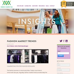 Fashion Market Trends & Tips