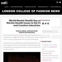 Fashion matters…in Mental Health, words by Zoe Shaunessy