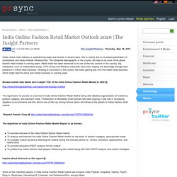 India Online Fashion Retail Market Outlook 2020