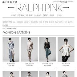 FASHION PATTERNS – Ralph Pink
