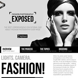 The Fashion Photography Exposed DVD