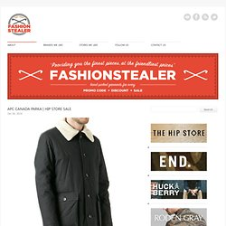 Fashion stealer | sale | discount | voucher code | promotion code | sns herning | our legacy | levis vintage | yuketen | nigel cabourn | common projects - Part 5