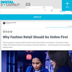 Why Fashion Retail Should Go Online First