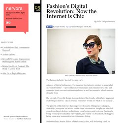 Fashion's Digital Revolution: Now the Internet is Chic - nervora