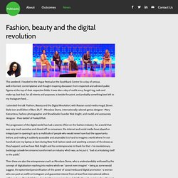 Fashion, beauty and the digital revolution - Publicasity - PR Agency