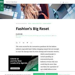 Fashion's Big Reset