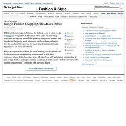 Google Fashion Shopping Site Makes Debut