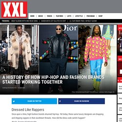 How Hip-Hop and Fashion Brands Started Working Together
