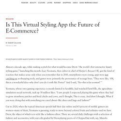 """Is the Fashion-Styling App """"Drest"""" the Future of E-Commerce?"""