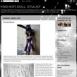Fashion Doll Stylist: Princess Diaries