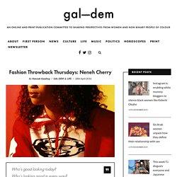 Fashion Throwback Thursdays: Neneh Cherry