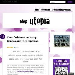 Slow fashion – marcas y tiendas que te encantarán