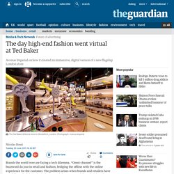 How high-end fashion went virtual at Ted Baker
