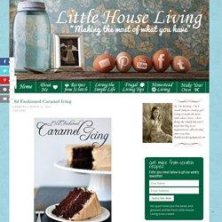 Old Fashioned Caramel Icing Recipe