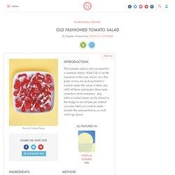 Old Fashioned Tomato Salad