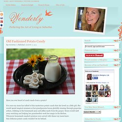 Old Fashioned Potato Candy | Wenderly