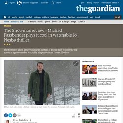 The Snowman review – Michael Fassbender plays it cool in watchable Jo Nesbø thriller