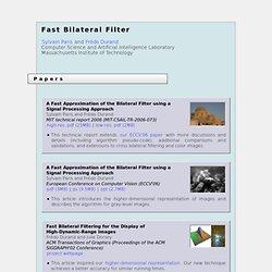 Fast Bilateral Filter