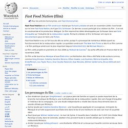 Fast Food Nation - Wikipedia