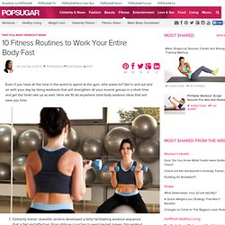 Fast Full-Body Workout Ideas