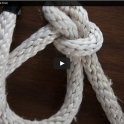 Fast and Easy Life Saving Bowline Knot
