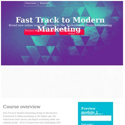 Fast Track to Modern Marketing