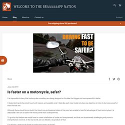 Tips For Being Safe On A Motorcycle – Braaaaaapp