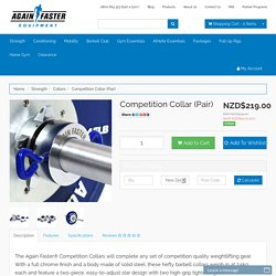 Again Faster New Zealand Competition Collar (Pair)