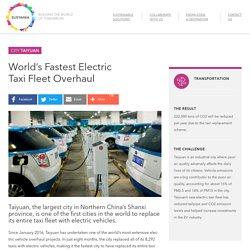 *****World's Fastest Electric Taxi Fleet Overhaul