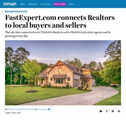 FastExpert.com connects Realtors to local buyers and sellers - Inman