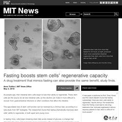 Fasting boosts stem cells' regenerative capacity