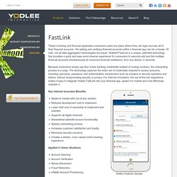 Bank and Financial Data APIs - Yodlee Interactive