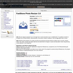 FastStone Photo Resizer Portatile