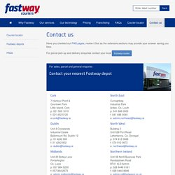 Fastway Couriers - Contact us