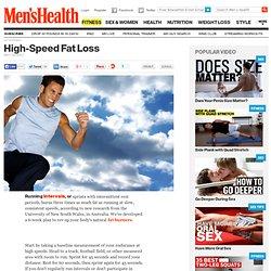 Fat Burning Exercise at Men
