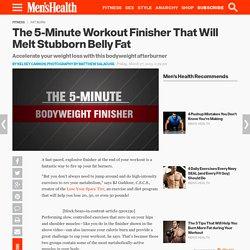 Fat-Burning Workout Finisher