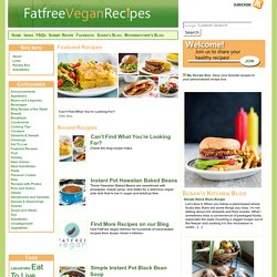 Fatfree Vegan Recipes - StumbleUpon