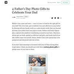 4 Father's Day Photo Gifts to Celebrate Your Dad - Canvas Champ - Medium