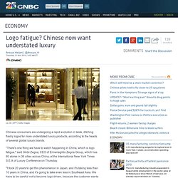 Logo fatigue? Chinese now want understated luxury