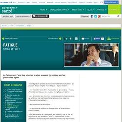 Fatigue : Fatigue et l'âge ?