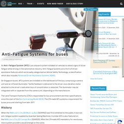Anti-Fatigue Systems for buses