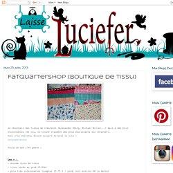 Laisse Luciefer: FatQuarterShop (boutique de tissu)