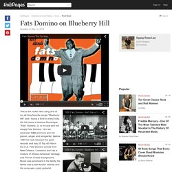 Fats Domino on Blueberry Hill