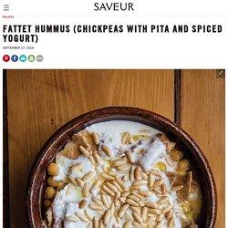 Fattet Hummus (Chickpeas with Pita and Spiced Yogurt) Recipe