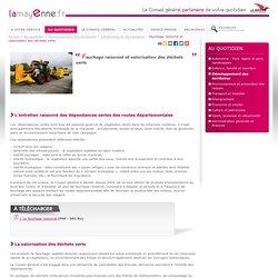 CONSEIL GENERAL DE MAYENNE - Fauchage raisonné et valorisation des déchets verts.