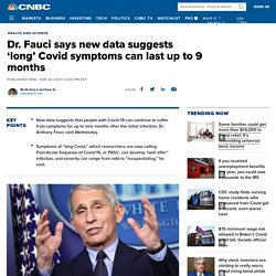 24.02.21 Fauci says new data suggests 'long' Covid symptoms can last up to 9 months