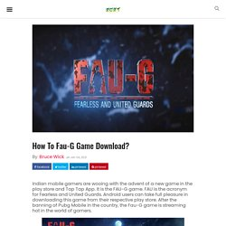 How To Faug Game Download? - News Web Zone