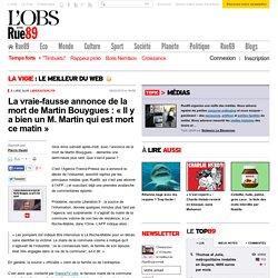 La vraie-fausse annonce de la mort de Martin Bouygues: «Il y a bien un M. Martin qui est mort ce matin»