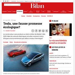 Tesla, une fausse promesse écologique?